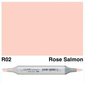 Copic Sketch R02-Rose Salmon