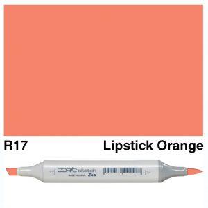 Copic Sketch R17-Lipstick Orange