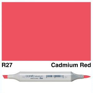 Copic Sketch R27-Cadmium Red