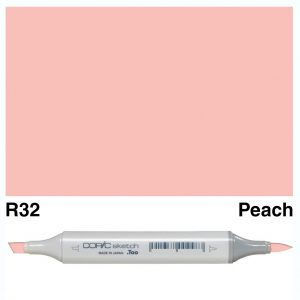 Copic Sketch R32-Peach