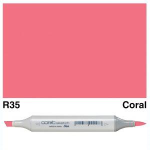 Copic Sketch R35-Coral
