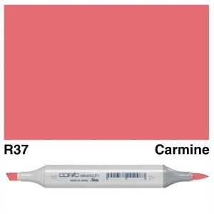 Copic Sketch R37-Carmine