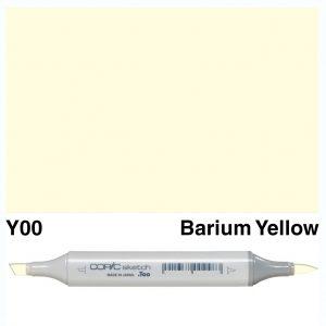 Copic Sketch Y00-Barium Yellow