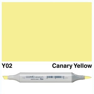 Copic Marker Sketch Y02 Canary Yellow