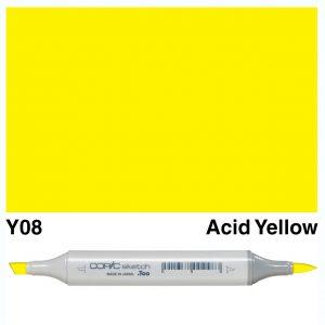 Copic Sketch Y08-Acid Yellow