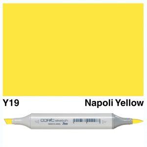 Copic Sketch Y19- Napoli Yellow