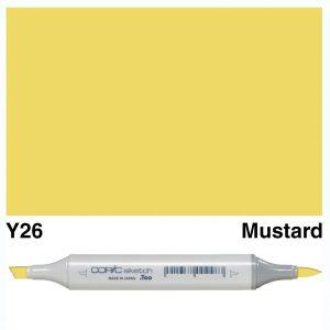 Copic Sketch Y26-Mustard