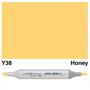 Copic Marker Sketch Y38 Honey