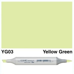 Copic Marker Sketch YG03 Yellow Green