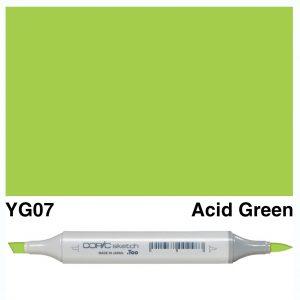 Copic Sketch YG07-Acid Green