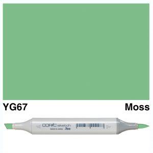 Copic Sketch YG67-Moss