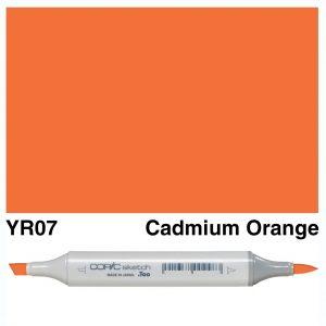 Copic Sketch YR07-Cadmium Orange