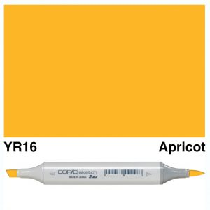 Copic Marker Sketch YR16 Apricot