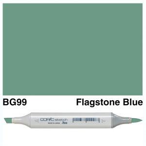 Copic Sketch BG99-Flagstone Blue