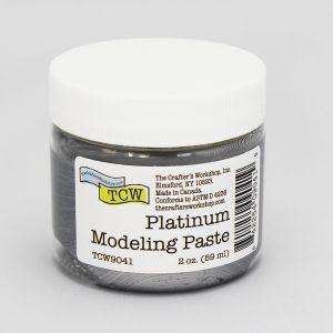 The Crafter's Workshop Platinum Modeling Paste 2 oz.