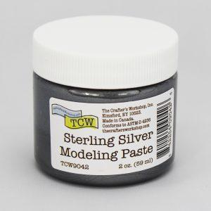 The Crafter's Workshop Sterling Silver Modeling Paste 2 oz.