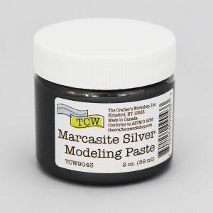 The Crafter's Workshop Marcasite Silver Modeling Paste 2 oz.